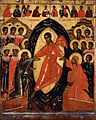 Unknow - Descent into Hell with Deesis and Selected Saints. Pskov - Google Art Project.jpg