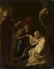 Krzyżowiec w niewoli u Saracenów