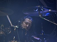 Unleashed, Anders Schultz at Party.San Metal Open Air 2013.jpg