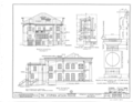 Upson House, 1000 Prince Avenue, Athens, Clarke County, GA HABS GA,30-ATH,2- (sheet 3 of 4).png