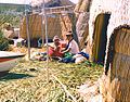 Uros mother and child Peru.jpg
