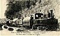 Usine a platre de Champblanc - Tramway a vapeur - Un Train allant a Gare de Cognac.jpg
