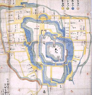 Battle of Utsunomiya Castle - Image: Utsunomiya Castle