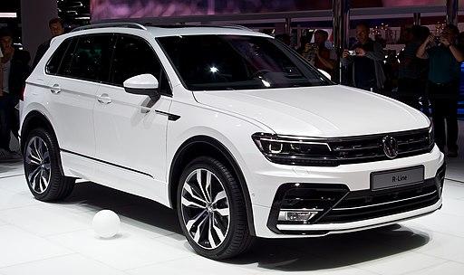 VW Tiguan 2.0 TDI 4MOTION R-Line (II) – Frontansicht, 19. September 2015, Frankfurt