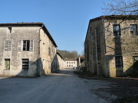 The old foundry in Val d'Osne