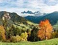 Val de Funes cun la Odles d'auton Südtirol.jpg
