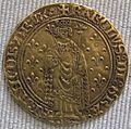 Valois, carlo vii, reale d'oro, 1422-1461.JPG