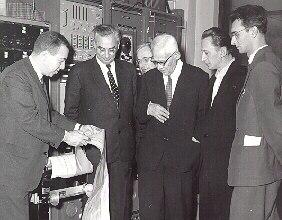 Van Allen with Soviet Scientists