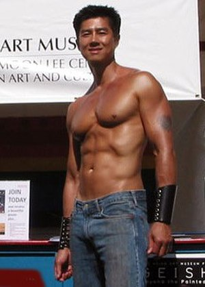 Van Darkholme - Darkholme during the Boss Of This Gym Competition