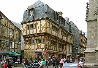 Vannes - Image: Vannes Altstadt