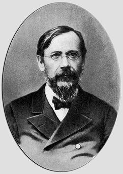 Портрет русского историка В. О. Ключевского (1844-1911)