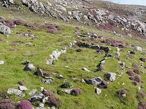 "Barra - Neolithic ""work platform"", near Vatersay"