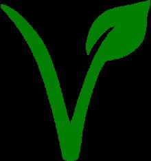Afbeeldingsresultaat voor vegetarisch teken