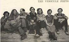 Left to right: Endre Farkas, Claudia Lapp, Artie Gold, John McAuley, Ken Norris, Tom Konyves, Stephen Morrissey