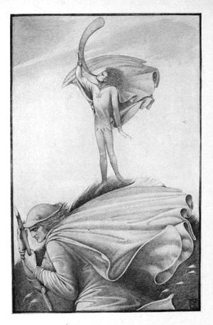 The Elfin Knight - Vernon Hill's illustration of this ballad