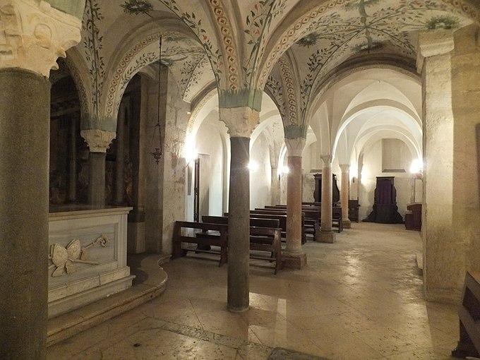 Verona - Santo Stefano - Cripta