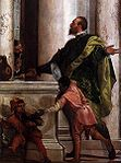 Veronese, Paolo - Feast in the House of Levi (detail) - 1573.jpg