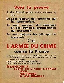 Affiche Rouge Wikipédia