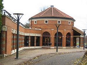 Verulamium - The Verulamium Museum in 2003