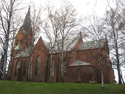 How to get to Vestre Aker Kirke with public transit - About the place