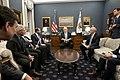 Vice President Pence meets with the Coronavirus Taskforce (49596569127).jpg