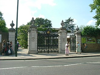 William Eden Nesfield - One of W. E. Nesfield's later works (1868); the Victoria Gate, Kew Gardens