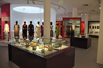 Vietnamese Women's Museum - Women's Fashion section