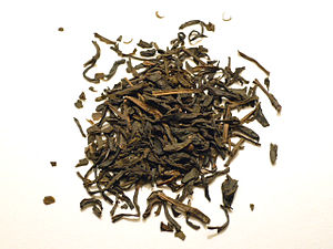 Tea blending and additives - Vietnamese lotus green tea