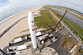 View from above on LADEEs Minotaur V on Launch Pad 0B.jpg