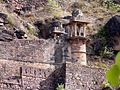 View from the steps to the raisen fort 02.jpg