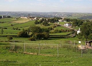 Blackley, West Yorkshire village in United Kingdom