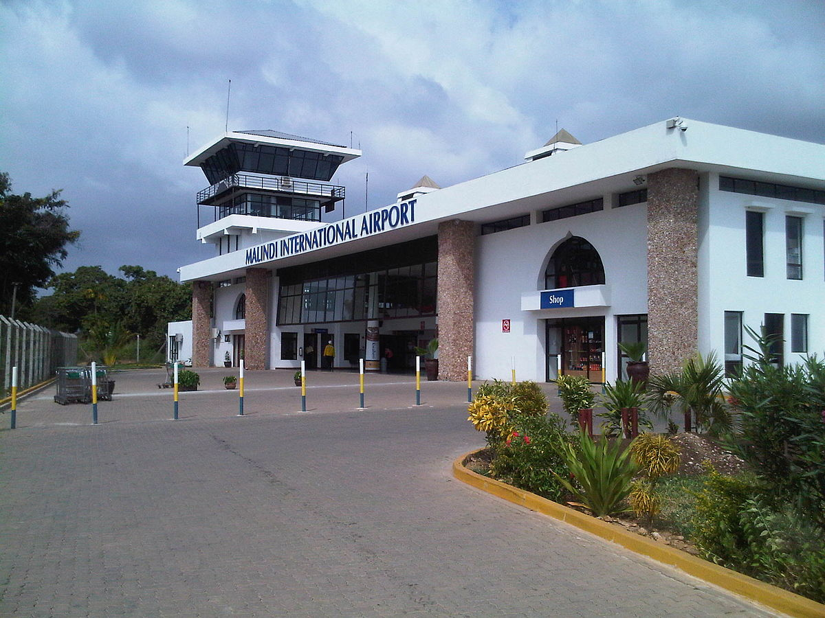 Px View Of Terminal Building At Malindi International Airport