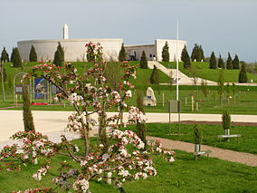 View over National Memorial Arboretum