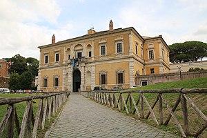 Villa Giulia - Renaissance façade by Jacopo Barozzi da Vignola