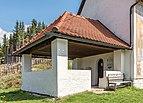 Villach Sankt Michael Filialkirche hl Michael Vorhalle SW-Ansicht 14042017 7520.jpg