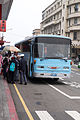 Visitors Aboarding ROCN Shuttle Bus in TRA Keelung Station 20150316.jpg