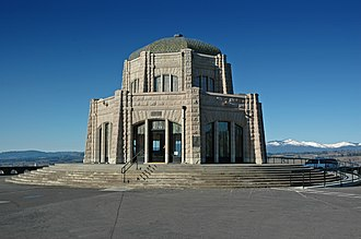 Crown Point (Oregon) - Image: Vista House