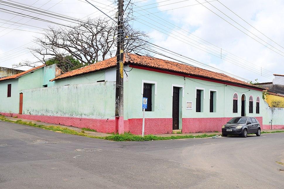 Vista externa da fachada da casa