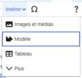 VisualEditor Template Insert Menu-fr.png