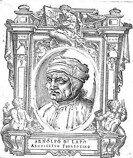 Arnolfo di Cambio Italian artist and architect (1240-1302)