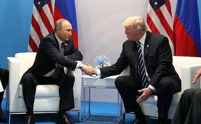 Vladimir Putin and Donald Trump, From WikimediaPhotos