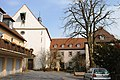 Vogelsburg, Kloster, Nebengebäude, Volkach.JPG