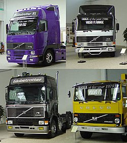 Fler leveranser av volvo lastbilar