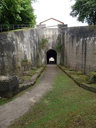 Vomitorium - A vomitorium at the Roman amphitheatre in Trier