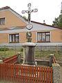Votoupal wayside cross in Studnice, Třebíč District.JPG