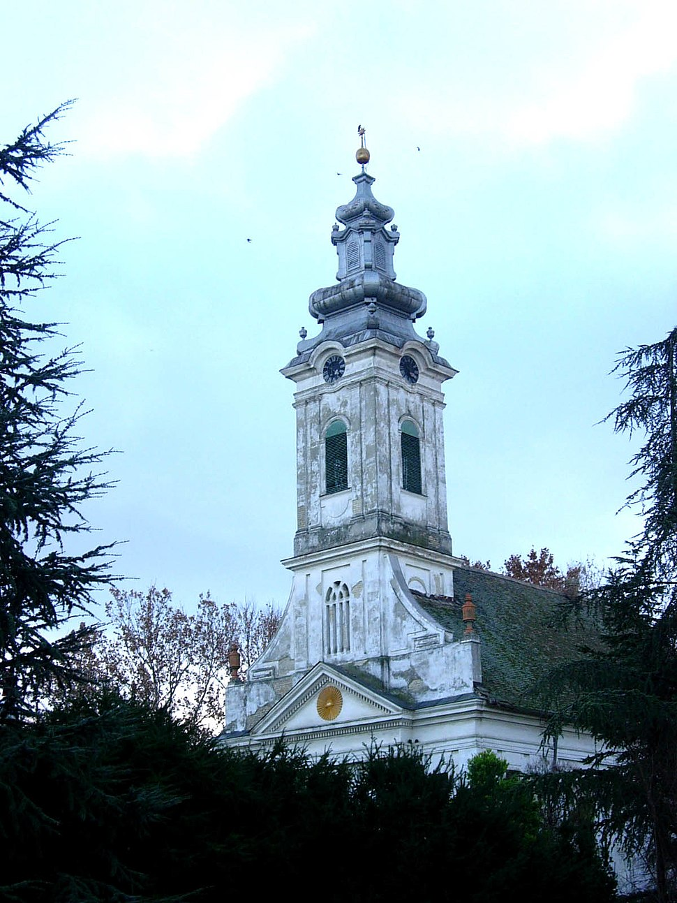 Vrbas, Calvinist church