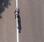 Vue de dessus d'un coureur du Grand Prix de Charvieu-Chavagneux 2018.JPG