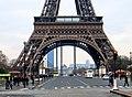 Vue sur la Tour Eiffel , Eiffel Tower in Paris France 10.JPG