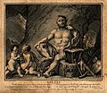 Vulcan (Hephaestus). Engraving by E. Jeaurat, 1716, after N. Wellcome V0035829.jpg