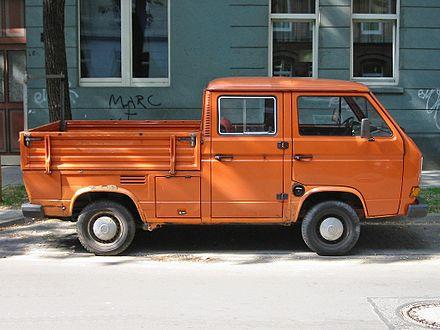 VW Transporter Als Doppelkabine